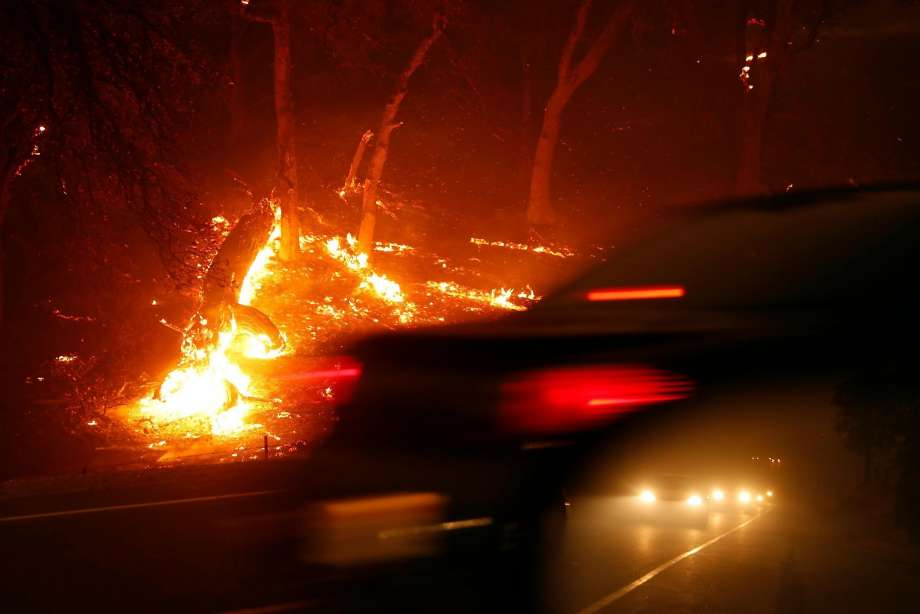 911 call logs reveal terrifying moments at onset of Camp Fire