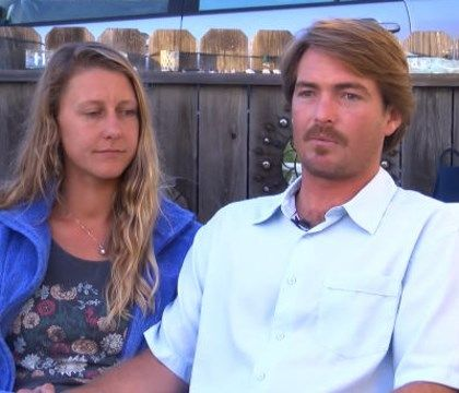 Couple awarded for saving crash victim while looking for fishing spot