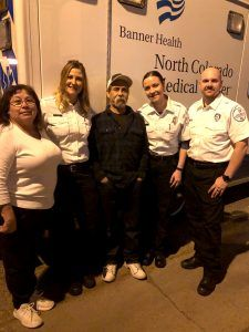 Greeley woman performs CPR on husband, credited by Banner paramedics with saving his life