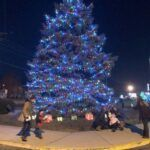 Ind. hospital holds holiday light event in honor of medical professionals