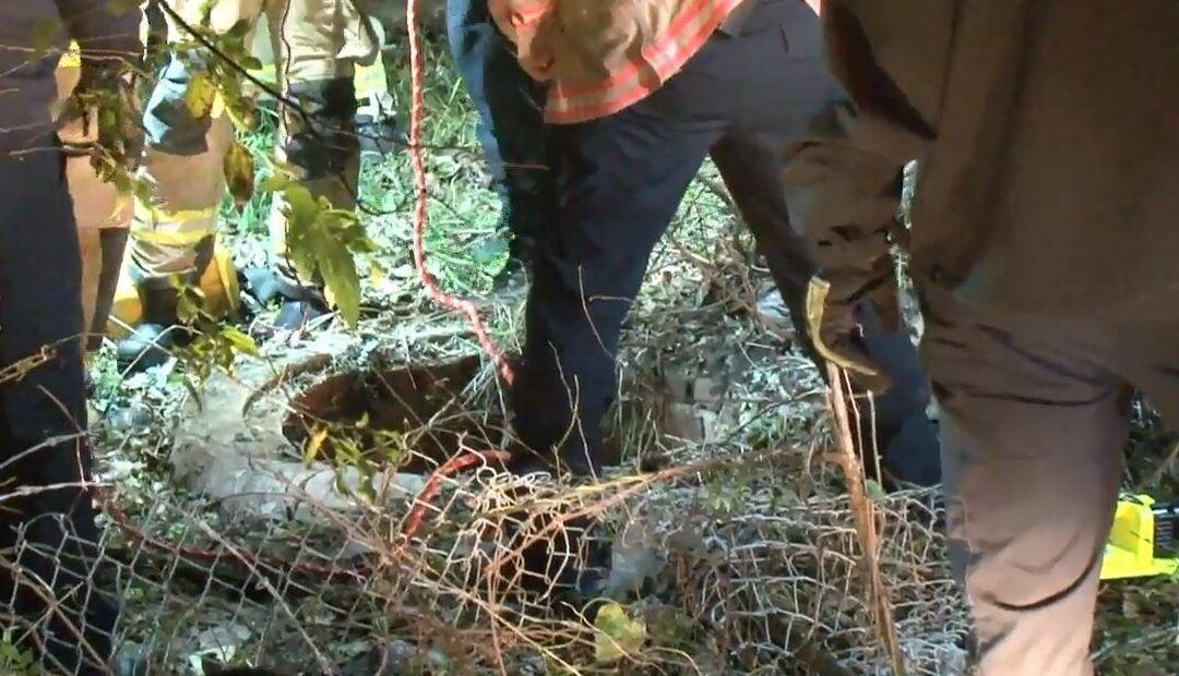 Man falls 30 feet down manhole in Near Northside