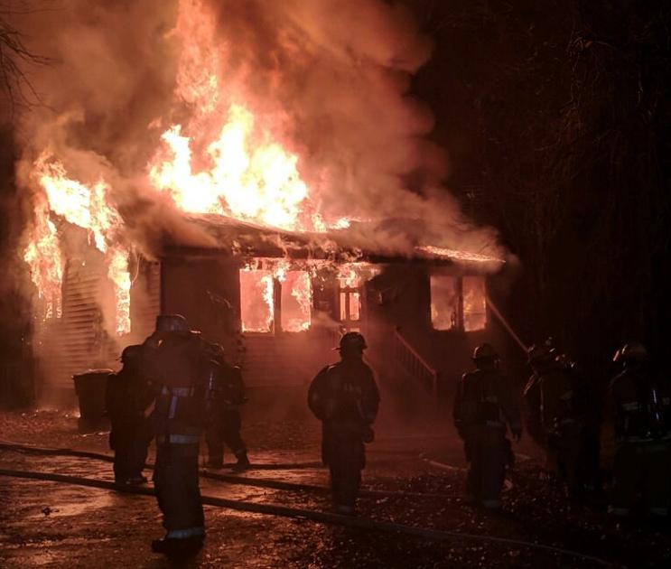 A 911 dispatcher took the call about a fire that destroyed her Suffolk home | Local News